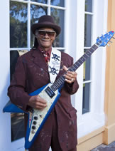 """I am 72 years old, and playing the blues is like a dose of the doctor's medicine – it takes the stress away."""