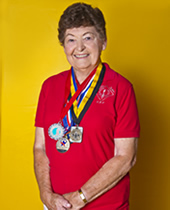 """""""At 77 years old, I've learned that competition is one of our greatest keys to success."""""""