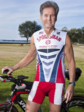 """""""At age 72, I've learned to train smart so that I can compete in triathlons with my granddaughters."""""""