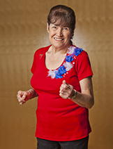"""I'm 68, and I use my leadership skills to spread joy and physical fitness through dance. I'm having the time of my life!"""