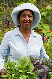 """At 71, I'm living proof that gardening keeps a person healthy and happy."""