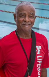 """I'm 74 years old, and the water has been a part of my entire life, but I'm a better teacher and swimmer now than I used to be."""