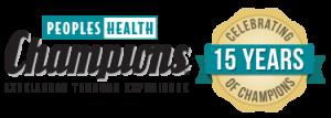 Champions 15 year logo